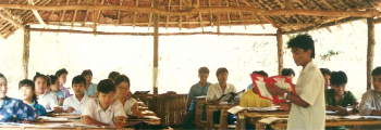 June 1990 – Education projects for crisis areas